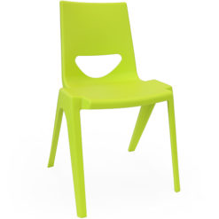 The-EN-One-Polypropylene-Classroom-Stacking-Chair-260mm-High-Set-of-8-Lime-Green-Nobis-Education-Furniture