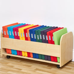 ACORN Trolley Storage and 20 Square Children's Seat Pads - Choice of 14 Colours