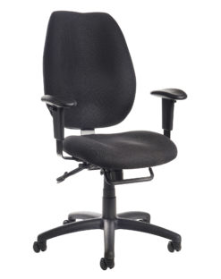 Nobis Office Furniture - Cornwall multi functional operator chair - black