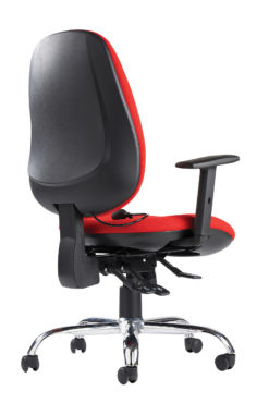 Jota ergo 24hr ergonomic asynchro task chair - red
