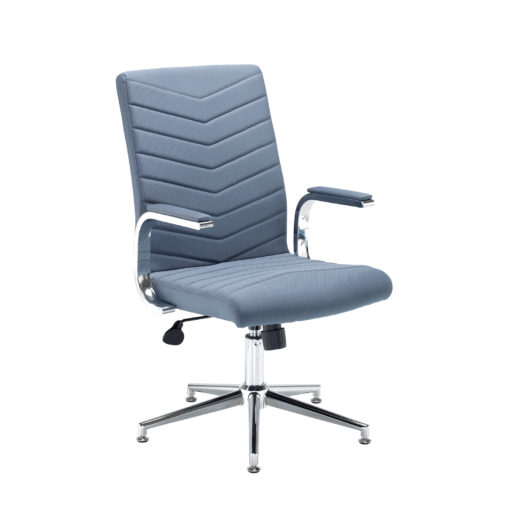 Nobis Office Furniture - Martinez high back managers chair - grey fabric