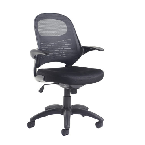 Nobis Office Furniture - Orion mesh back operators chair - black