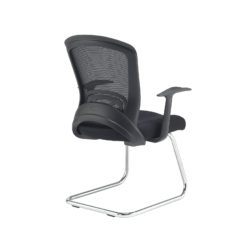 Solaris mesh visitors chair - black