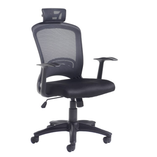 Nobis Office Furniture - Solaris mesh back operator chair - black