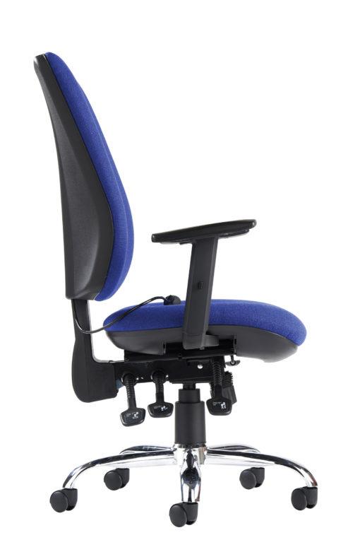 Senza ergo 24hr ergonomic asynchro task chair - blue