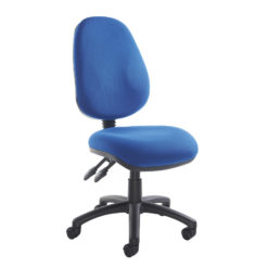 Nobis Office Furniture - Vantage 100 2 lever PCB operators chair with no arms - blue