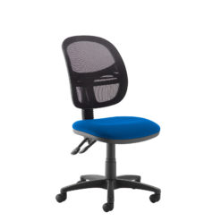 Nobis Office Furniture - Jota Mesh medium back operators chair with no arms - blue