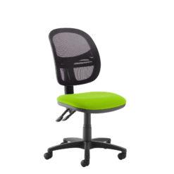 Nobis Office Furniture - Jota Mesh medium back operators chair with no arms - green